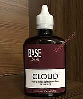 Готовая база 6 mg/ml 100 ml Cloud