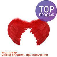 Крылья Ангела Маленькие 45х35 (красные) / карнавальный костюм