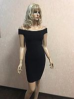Красивое чёрное платье Glamorous 38р (S)