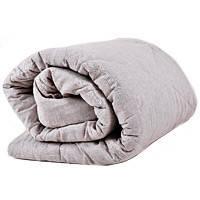 Одеяло льняное ЛИНТЕКС 140x205 натуральное, фото 2