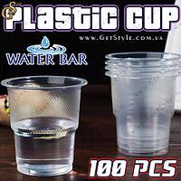 "Пластиковые стаканы - ""Plastic Cups"" - 100 шт."