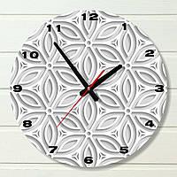 """Часы настенные - """"Японский орнамент"""" (на пластике)"""