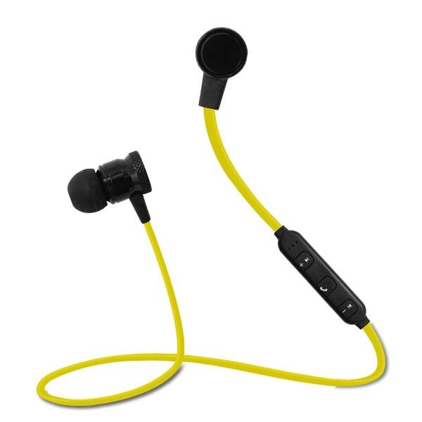 Беспроводные стерео наушники bluetooth STN-112 HiFi Жёлтый
