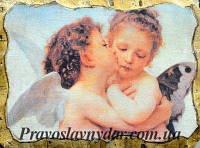 Картинка на дереве «Поцелуй Ангелов»