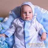 Рубашка крестильная для мальчика (8003)