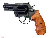 """Револьвер Флобера ATAK Arms Stalker 2.5"""" (барабан: сталь / черный / пластик под дерево)"""