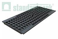 Решетка водоприемная StandartPark 500х237х14 класс нагрузки: A – С ячеистая чугунная ВЧ, кл.С (25403)
