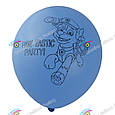 Латексні повітряні кульки щенячий патруль 3 кольори в упак. 10 шт., фото 3