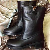 Ботинки демисезонные LV натуральная кожа