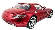 Машинка р/у 1:14 Meizhi лиценз. Mercedes-Benz SLS AMG (красный), фото 3