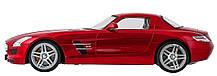 Машинка р/у 1:14 Meizhi лиценз. Mercedes-Benz SLS AMG (красный), фото 2