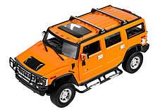 Машинка р/у 1:14 Meizhi лиценз. Hummer H2 (желтый), фото 2