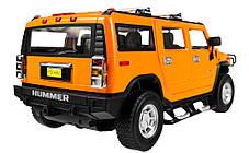 Машинка р/у 1:14 Meizhi лиценз. Hummer H2 (желтый), фото 3