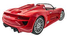 Машинка р/у 1:14 Meizhi лиценз. Porsche 918 (красный), фото 3