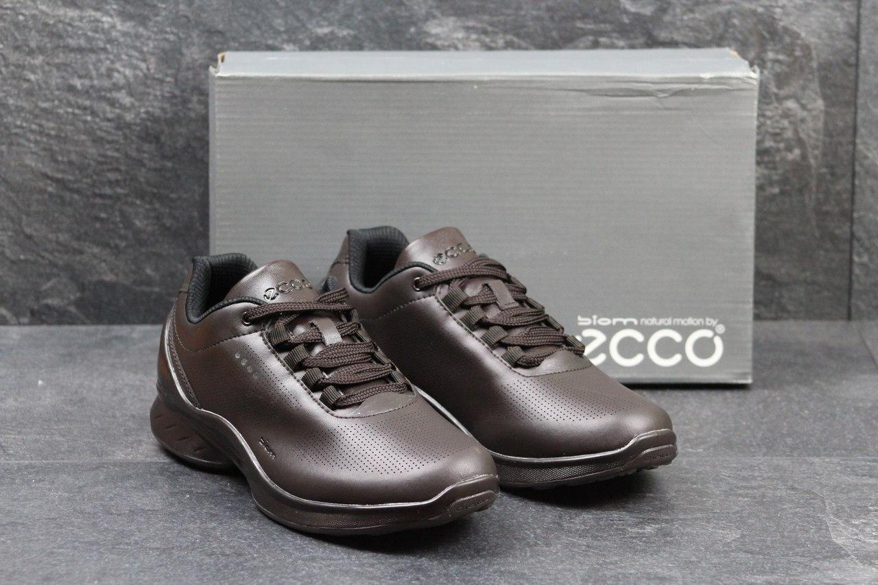 Кроссовки мужские Ecco biom, коричневые (Реплика) ba8b196bc12