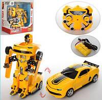 Робот-трансформер Бамблби Bumblebee на радиоуправлении, звуковые и световые эффекты