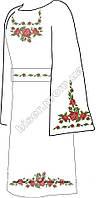 Заготовка вышивки бисером Женское платье ВПЖ-15