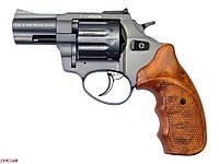"""Револьвер Флобера ATAK Arms Stalker 2.5"""" (барабан: сталь / серый / пластик под дерево)"""