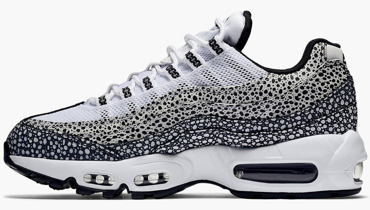 Мужские и женские кроссовки в стиле Nike Air Max 95 Premium Safari Pack, фото 2