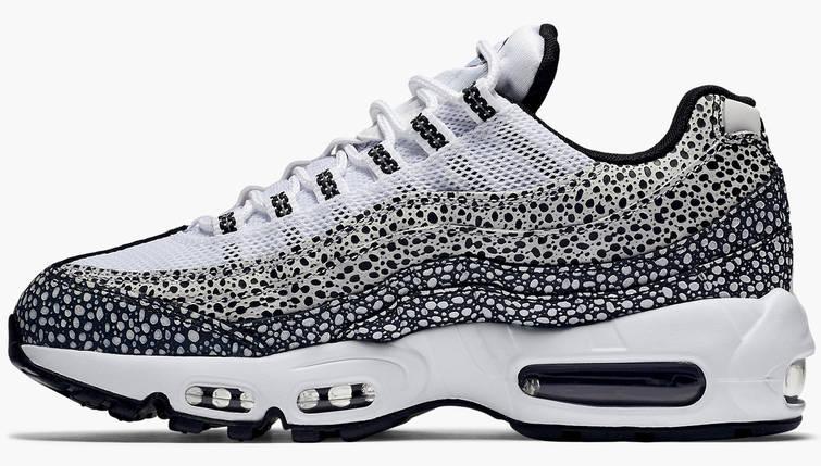 Женские и мужские кроссовки Nike Air Max 95 Premium Safari Pack, фото 2