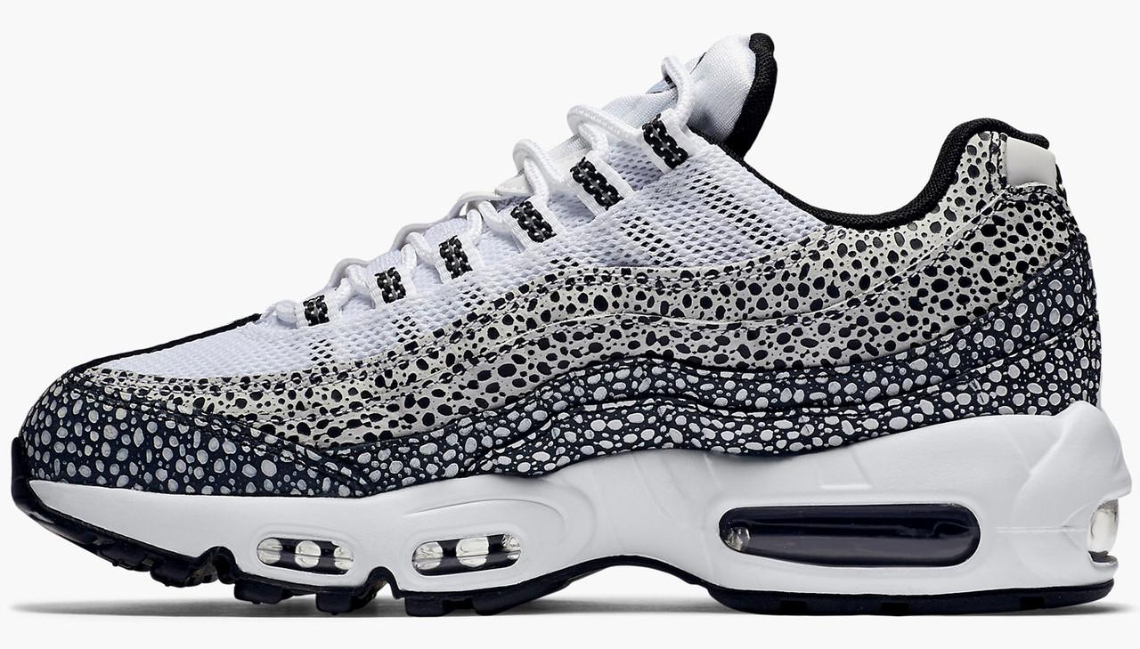 Женские и мужские кроссовки Nike Air Max 95 Premium Safari Pack