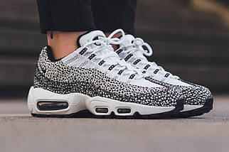 Женские и мужские кроссовки Nike Air Max 95 Premium Safari Pack, фото 3