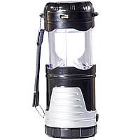 Фонарь Lomon 1035 кемпинговый подвесной Черный 2600 mAh 1W для туристов походов павер банк