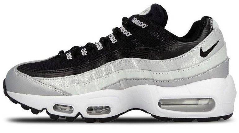 7d5b22c5 Мужские и женские кроссовки Nike Air Max 95 QS Metallic Platinum & Noir, ...