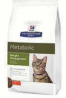 Hills (Хиллс)Prescription Diet Metabolic Feline, для кошек при ожирении, 1.5кг
