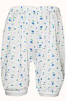 Теплые панталоны (Белый с цветочным рисунком)