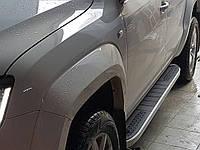 Боковые пороги VW Amarok 2010-2017+