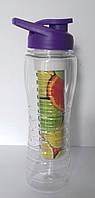 Спортивная бутылка для питья c шейкером и инфьюзером Home Essentials B1371