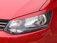 Ресницы на фары Volkswagen Polo 2009-