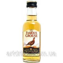 Виски Famous Grouse (Фэймос Граус)  0.05L