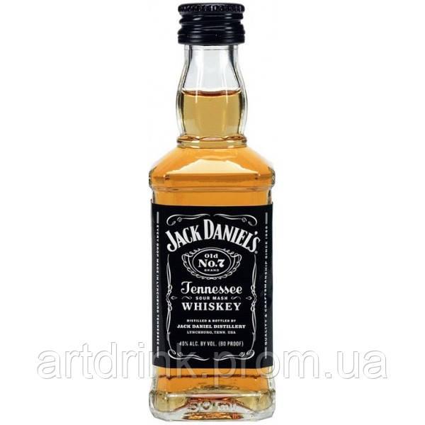 Виски Jack Daniel's (Джек Дэниэлс)  0,05L
