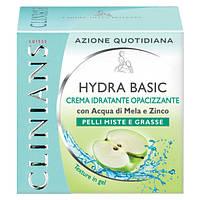 Clinians Hydra-T Крем-гель для лица матирующий для жирной кожи с Яблочной водой