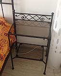 Ковані ліжка. Ліжко ІК 336, фото 3