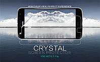 Защитная пленка Nillkin Crystal для Motorola Moto Z Play