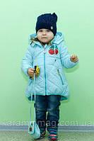 Куртка (парка) на девочку весна-осень