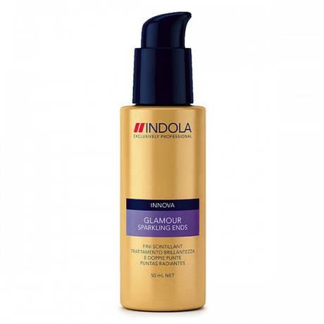 Средство для блеска кончиков волос Sparkling Ends Glamour, Indola 50 мл