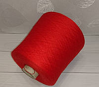 Меринос Lana Catto Harmony 1750 м №96772 Rosso. Красивый алый цвет.