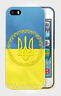 """Чехол для для iPhone 5/5s """"NATIONAL SYMBOLS 7""""."""