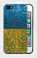 "Чехол для для iPhone 5/5s ""FLAG UKRAINE 3""."