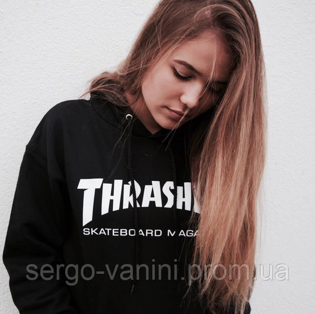 Thrasher женская толстовка | Бирки оригинальные | Хайповый Трешер