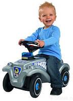 Машинка - каталка New Bobby Полиция Big - Германия - световые эффекты, отсек для мелочей