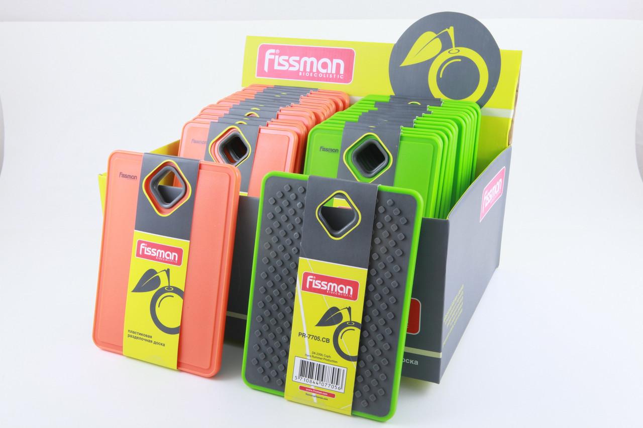 Разделочная доска пластиковая 19 х 14 х 0.8 см Fissman (PR-7705.CB)