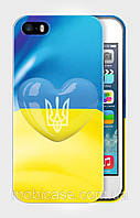 "Чехол для для iPhone 5/5s ""LOVE UKRAINE 2""."