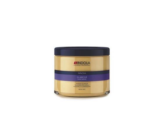 Маска для блеска волос Glamour, Indola 200 мл