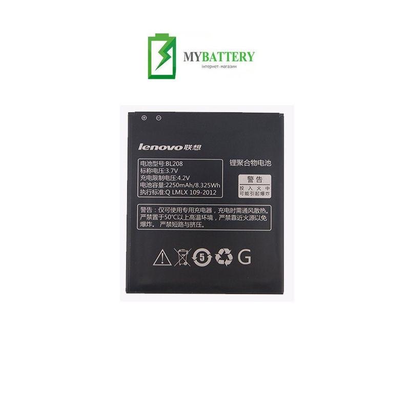 Оригинальный аккумулятор АКБ батарея Lenovo BL208 для Lenovo S920 A616 A690E