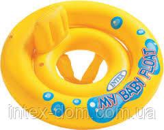Надувной круг с трусиками Мой маленький плот Intex 59574